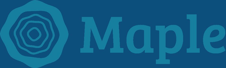 Maple Logo - Dark Blue